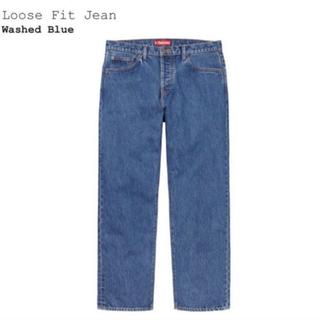 Supreme - supreme loose fit jean 30inc