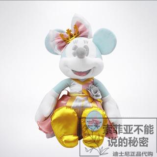 ミニーマウス(ミニーマウス)の日本未発売 上海ディズニーランド アトラクション ミニーちゃん 7月限定 ラス1(ぬいぐるみ)