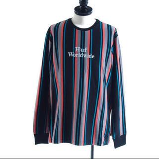 ハフ(HUF)のHUF LOGO STRIPE ロゴ ストライプ ロンT (Tシャツ/カットソー(七分/長袖))