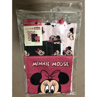 ミニーマウス(ミニーマウス)のミニー 巾着 3点セット ディズニー レトロ 新品(ポーチ)