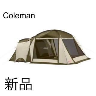 コールマン(Coleman)の【新品未使用】コールマン タフスクリーン2ルームハウス オリーブ/サンド(テント/タープ)