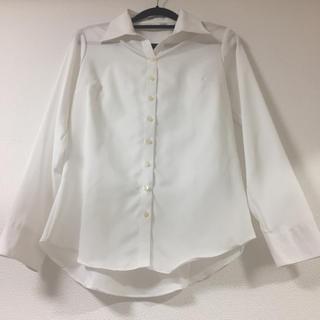 AOKI - 【翌日発送可】白スキッパーシャツ/9号