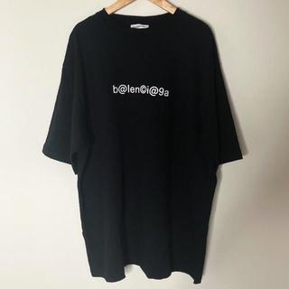 バレンシアガ(Balenciaga)の【美品】BALENCIAGA OVERSIZE TSHIRTS BLACK XS(Tシャツ/カットソー(半袖/袖なし))