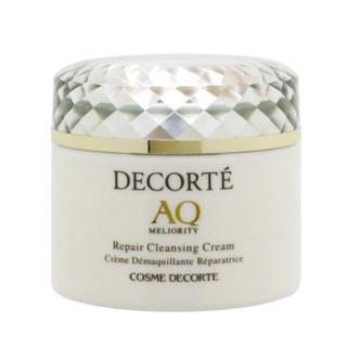 コスメデコルテ(COSME DECORTE)のコスメデコルテ AQ ミリオリティリペア クレンジングクリーム 新品未使用品(クレンジング/メイク落とし)