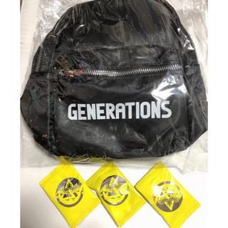 GENERATIONS - GENERATIONS ミニリュック 缶バッジ