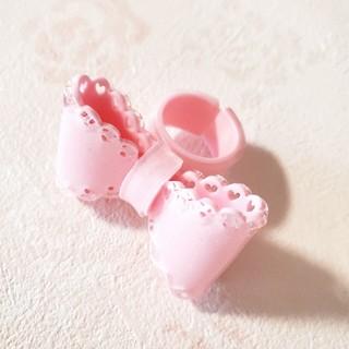 Angelic Pretty - キラキラ リボンリング 指輪◆ゆめかわいい フェアリー ロリィタ