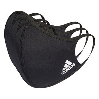 アディダス(adidas)のadidas フェイスカバー 大人用 ブラック3枚セット(その他)