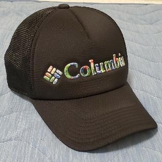 コロンビア(Columbia)のコロンビア メッシュキャップ ブラック 黒(キャップ)