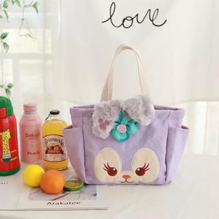 ステラルー(ステラ・ルー)の日本未発売 ステラルー  ランチバッグ  お弁当入れ ハンドバッグ ラス2 (キャラクターグッズ)