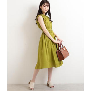 N.Natural beauty basic - N.natural beauty basic コットンローンミモレワンピース