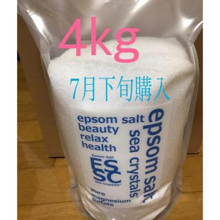 シークリスタルス エプソムソルト 4kg