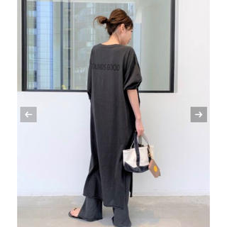 L'Appartement DEUXIEME CLASSE - L'Appartement ☆グッドグリーフPRINTED LONG DRESS