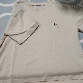 natural couture - ナチュラルクチュール 女の子刺繍Tシャツ