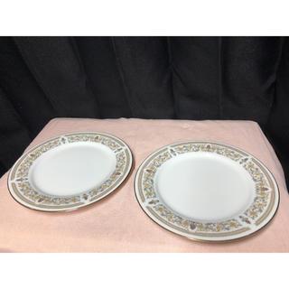 ノリタケ(Noritake)のノリタケ ゴールドグレース 洋皿  2枚セット オールドノリタケ(食器)