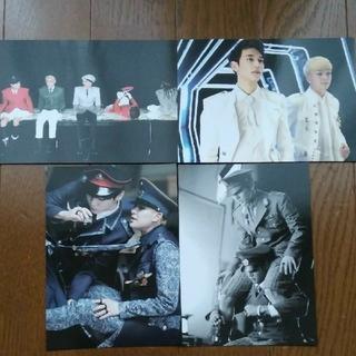 シャイニー(SHINee)のSHINee 公式EVERYBODYポストカード4枚セット(アイドルグッズ)