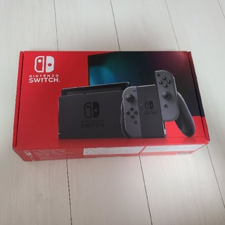 Nintendo Switch  グレー 本体 未使用