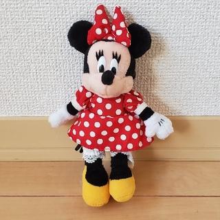 Disney ** ミニー ぬいぐるみ レトロ