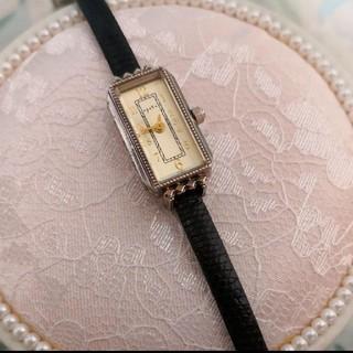アガット(agete)の◇専用◇agete スクエア アンティーク時計(腕時計)