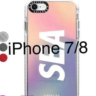 CASETiFY × WIND AND SEA  iPhone 7/8ケース