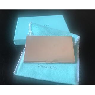 ティファニー(Tiffany & Co.)のティファニー Tiffanyシルバー 名刺入れ カードケース/ダンヒルグッチ(名刺入れ/定期入れ)