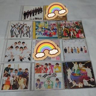 ジャニーズウエスト(ジャニーズWEST)の【ジャニーズWEST】CD 初回盤、通常盤(ポップス/ロック(邦楽))