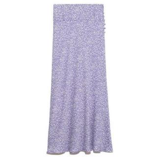FRAY I.D - バイヤスナローフラワースカート