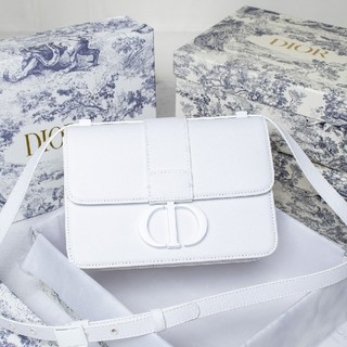 Christian Dior - Christian Dior ショルダーバッグ ホワイトおしゃれ