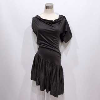 Vivienne Westwood - ヴィヴィアンウエストウッド アシンメトリー 変形 ドレス ワンピース