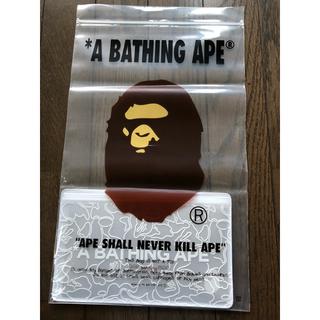 アベイシングエイプ(A BATHING APE)のAPE ABC NEON CAMO CASE & MASK(その他)