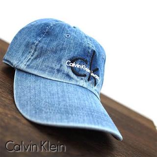 シーケーカルバンクライン(ck Calvin Klein)のカルバンクライン デニム キャップ(キャップ)