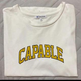 グローバルワーク(GLOBAL WORK)のグローバルワーク ロゴTシャツ(Tシャツ(半袖/袖なし))