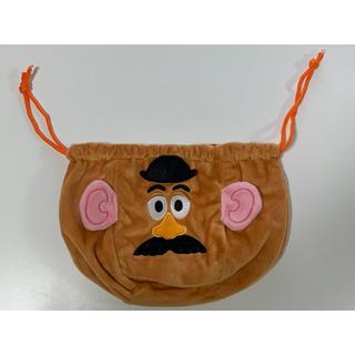 トイストーリー(トイ・ストーリー)の☆新品未使用☆ ミスターポテトヘッド きんちゃく 巾着袋(ポーチ)