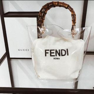 FENDI - FENDI 保存袋✨クリアバック