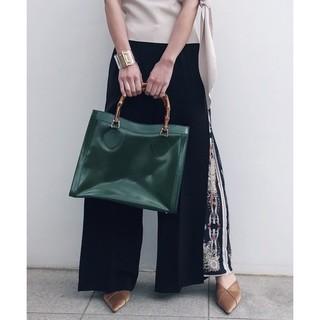 Ameri VINTAGE - Ameri vintage レイヤードワイドパンツ スカーフパンツ