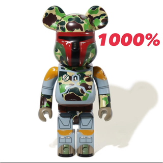アベイシングエイプ(A BATHING APE)のBape BOBA FETT BE@RBRICK 1000% STAR WARS(フィギュア)