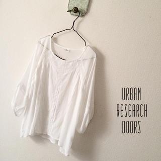 アーバンリサーチ(URBAN RESEARCH)のUR DOORS 袖バルーンブラウス(シャツ/ブラウス(長袖/七分))