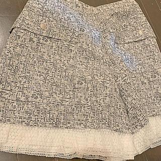 René - RENE 裾フリルレースキュロット beamsドレスシャツ付