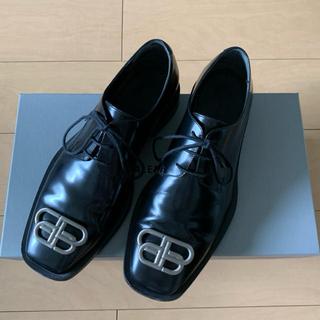 Balenciaga - BALENCIAGA バレンシアガ BB リムダービー シューズ 革靴