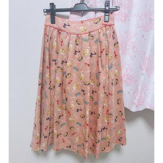 リリーブラウン(Lily Brown)のLily Brown Barbie Skirt リリーブラウンバービースカート(ひざ丈スカート)