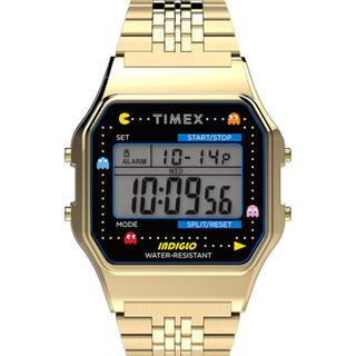 タイメックス(TIMEX)の新品 Timex T80 PAC MAN ゴールド タイメックス パックマン(腕時計(デジタル))