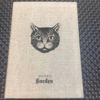 グッチ(Gucci)の✨新品 未使用 GUCCIガーデン ノート 猫柄(ノート/メモ帳/ふせん)