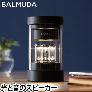 バルミューダ(BALMUDA)のBALMUDA The Speakerザ・スピーカー ブラックM01A-BK(スピーカー)