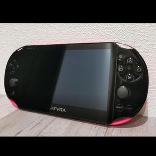 PlayStation Vita - 美品!ソフト付き!ps vita