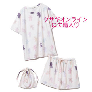 gelato pique - 最安値♡ジェラートピケ♡【ONLINE 限定】ベアTシャツ&ショートパンツ&巾着