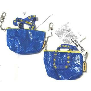 IKEA - イケア新品2個セット♥️可愛い(^-^)ミニバッグ キーホルダー ♥️クノーリグ
