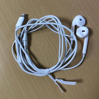 アイフォーン(iPhone)のiPhone イヤホン 純正品 ライトニング Lightning(ヘッドフォン/イヤフォン)
