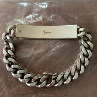 シュプリーム(Supreme)のsupreme シルバーIDブレスレット Silver ID Bracelet(ブレスレット)