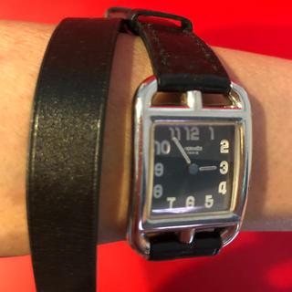 エルメス(Hermes)のエルメス ケープコッド 二重巻き(腕時計)