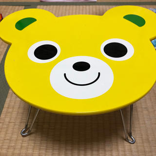 ミキハウス(mikihouse)のミキハウス  ノベルティ テーブル(折たたみテーブル)