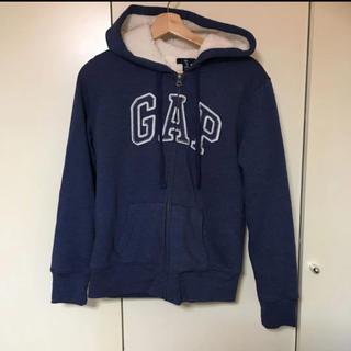 ギャップ(GAP)のGAP デニムボアパーカー(パーカー)